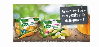 Test produit : pots legumes bledina
