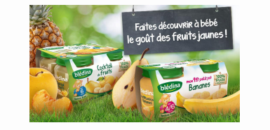 Test produit consobaby : petits pots fruits bledina
