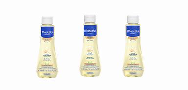 Offre produit Mustela : Huile pour le bain hydratante