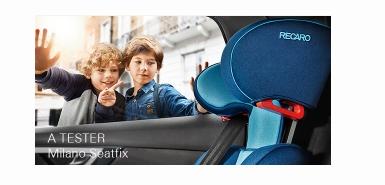 Test de produit Consobaby : Recaro Milano Seatfix