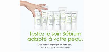 Test produit Bioderma : soin sébum à saisir gratuitement