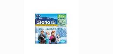 Remboursement de 15€ sur un jeu Pour Tablette HD Storio Vtech La Reine Des Neiges
