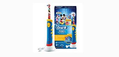 Obtenez jusqu'à 60€ de remboursement à l'achat Oral-B Stages Brosse À Dents Électrique Pour Enfants Avec Personnages Mickey