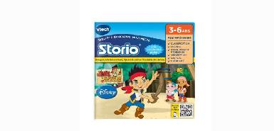 Jusqu'à 15€ remboursés sur un Jeu Storio Vtech Jake et les Pirates du Pays imaginaire