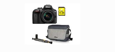 Obtenez 50€ remboursés pour l'achat d'un Appareil photo numérique reflex NIKON KIT D3400 + AF-P DX 18-55 + SD+ FT+ LENS PEN