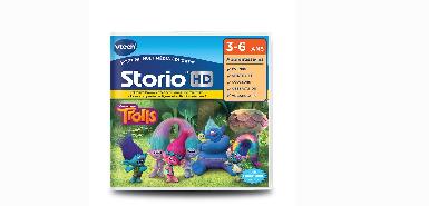 Recevez 25€ de remboursement sur un jeu storio HD - TROLLS