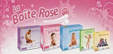 Obtenez la Boîte Rose pour les mamans et futures mamans gratuite