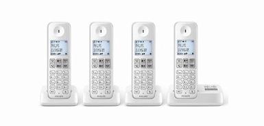 Obtenez 30€ remboursés sur un téléphone sans fil PHILIPS D2354W FR