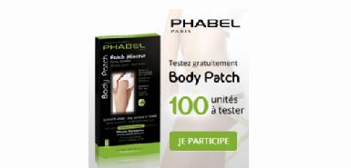 Offre Betrousse, testez le Body Patch Phabel