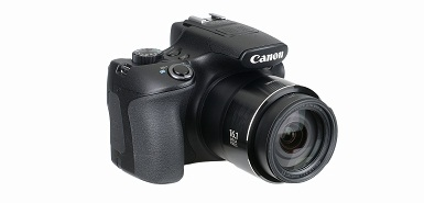 Réduction de 35€ sur un appareil photo bridge CANON SX60 HS BLACK