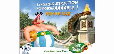 Une journée au parc Asterix à obtenir gratuitement