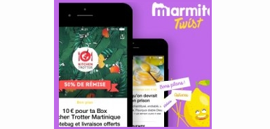 Testez l'appliation Marmiton Twist gratuitement