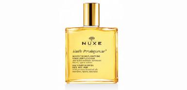 Testez gracieusement une huile prodigieuse Nuxe