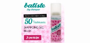 Sur Betrousse, obtenez gratuitement le shampooing sec Blush