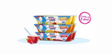 Recevez gratuitement les P'tits onctueux chez Nestlé
