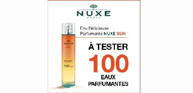 Obtenez gratuitement une eau Nuxe sur Beauté-Test