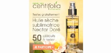 Offre Betrousse : une huile Centifolia à tester