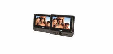 Jusqu'à 10€ remboursés sur votre Lecteur DVD portable 7 pouces 2 écrans D-JIX PVS 702-39LSM chez conforama