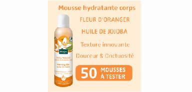 Test produit Beaute-test : Mousse hydratante corps