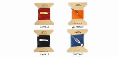 Offre le lacet parisien : 30bracelets en cuir