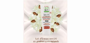 Offre So'BIO etic : testez la crème Masque Récupératrice
