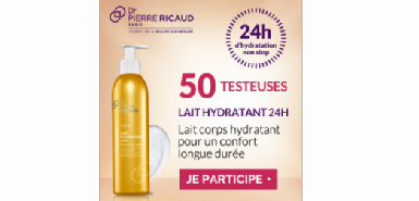 Offr Betrousse : Lait Hydratant 24H  Dr Pierre RICAUD