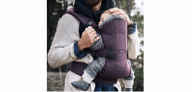 Test produit Consobaby : porte bébé one woods baby