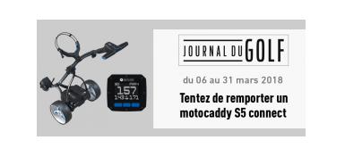Jeu concours Lequipe : Un motocaddy S5 connect