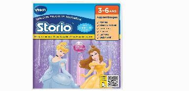 25€ remboursés sur le jeu STORIO - DISNEY PRINCESSES