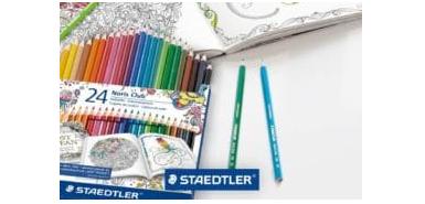 Bénéficiez de 400 lots de feutres et crayons écologiques Staedler gratuitement!