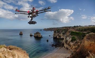 amazon livre les courses avec drones